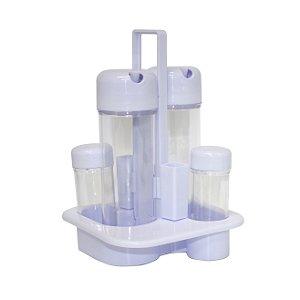 Galheteiro de Plástico Branco