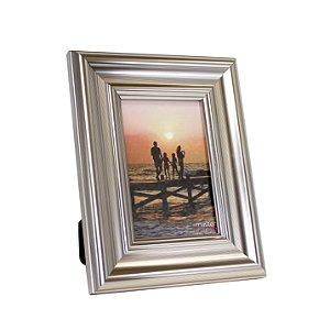 Porta Retrato de Plástico Dourado 10x15