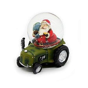 Enfeite Decorativo Snowball Papai Noel 7,5cm