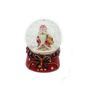 Enfeite Decorativo Snowball Papai Noel 6,5cm