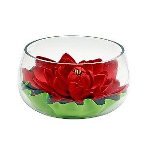Vaso de Vidro Lotus