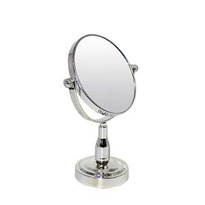 """Espelho c/ Pedestal Dupla Face 5"""""""