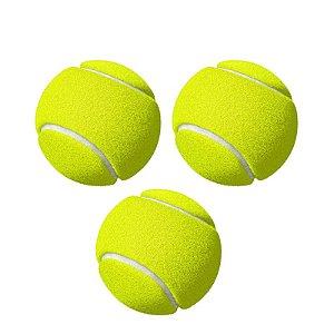 Kit com 3 Bolas de Tênis