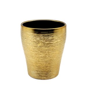 Vaso Cerâmica Verese Dourado W409-19DR