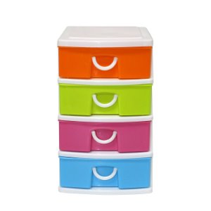 Organizador de Plástico Colorido