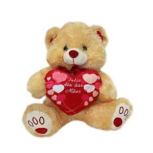 """Urso """"Feliz Dia das Mães"""""""