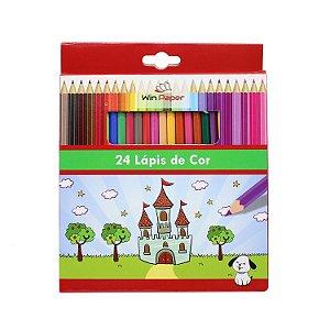 Caixa com 24 Lápis de Cor