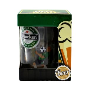 Caneca Gel Congelante Beer - Heineken 460 ml