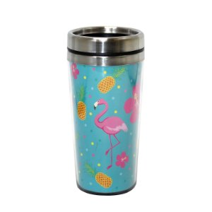 Copo Térmico Flamingo 450ml