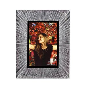 Porta Retrato Glitter Prata 10x15