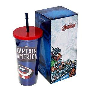 Copo Avengers - Capitão América 650ml