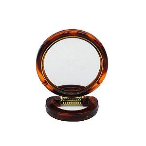 Espelho Redondo Dupla Face