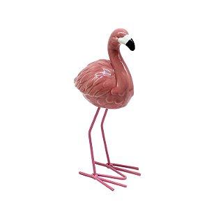 Enfeite Decorativo Flamingo