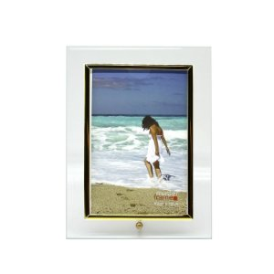 Porta Retrato de Vidro Vertical 10x15