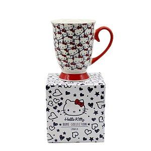 Caneca de Porcelana Hello Kitty Classical Faces 300ml