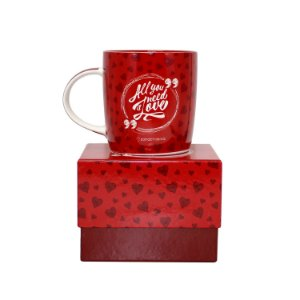 "Caneca ""All You Need is Love"" 320ml"