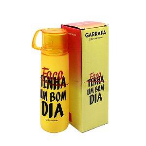 """Garrafa """"Faça um Bom Dia"""" 600ml"""