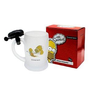 Caneca com Campainha Homer Simpsons