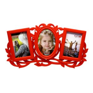 Porta Retrato p/ 3 Fotos 10x15