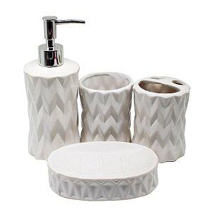 Kit Para Banheiro em Porcelana 335K