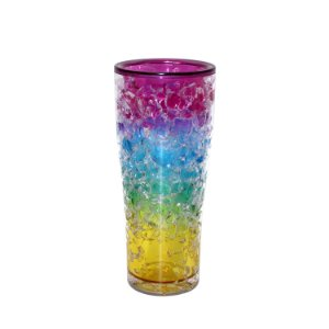 Copo Alto Arco-Íris com Gel Congelante 350ml