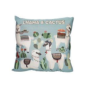 Almofada Lhama & Cactus