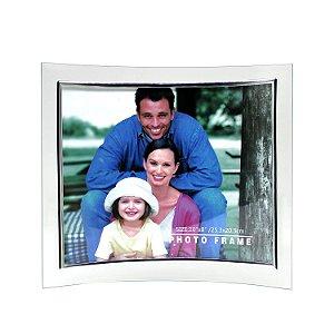 Porta Retrato de Vidro Curvo Horizontal 20x25