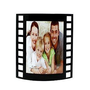 Porta Retrato Filme Curvo Vertical 20x15
