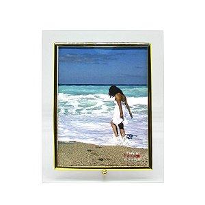 Porta Retrato de Vidro Vertical 13x18