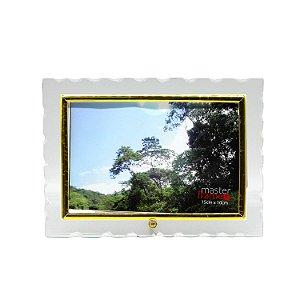 Porta Retrato Borda Trabalhada Horizontal 10x15
