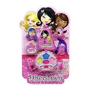 Kit Maquiagem Infantil Disco Teen