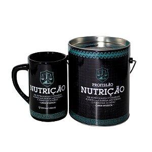 Caneca Profissões 300 ml - Nutrição