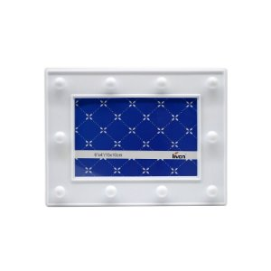 Porta Retrato de Plástico c/ LED Branco