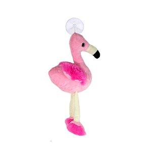 Chaveiro Pelúcia Flamingo