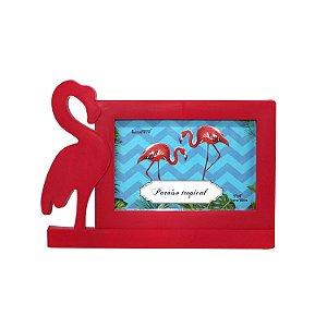 Porta Retrato de Plástico Flamingo