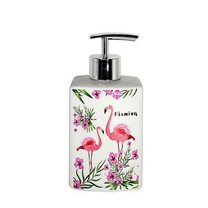 Porta Sabonete Líquido Flamingo - cod. A0842