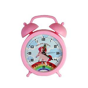 Relógio Despertador Unicórnio - cod. A1073