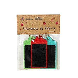 Porta Recado de Madeira - cod. A0544