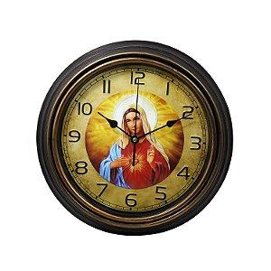Relógio Motivo Religioso 30cm