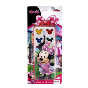 Aquarela 12 Cores Minnie