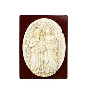 Quadro Resina Sagrada Família