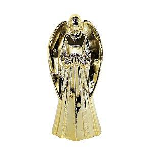 Enfeite Decorativo Anjo de Porcelana