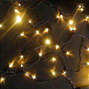 Pisca Pisca 100 Lâmpadas LED Branco Quente