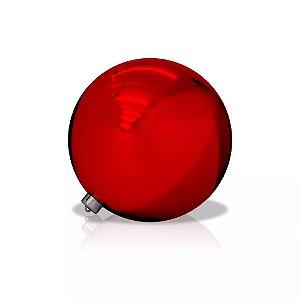 Bola Lisa Vermelha 15cm