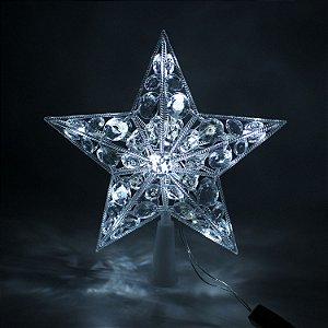 Ponteira Estrela 16 LEDs