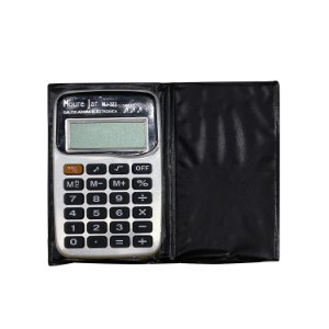 Mini Calculadora com Capa - cod. MJ-323