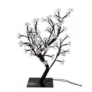 Árvore Cerejeira 44cm LED Branco