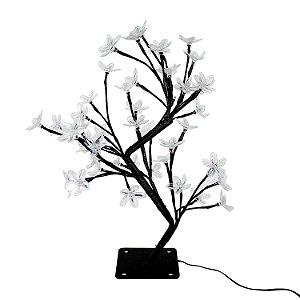 Árvore Cerejeira 44cm LED Colorido