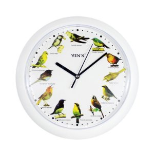 Relógio de Parede Pássaros