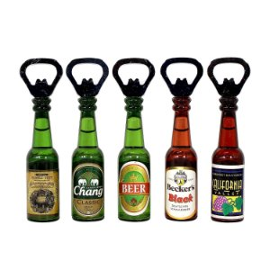 Abridor Modelo Garrafas de Cerveja